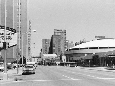 Downtown Fort Worth in 1975