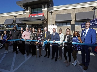 RaceTrac opens its first locations in Nashville, Tennessee.