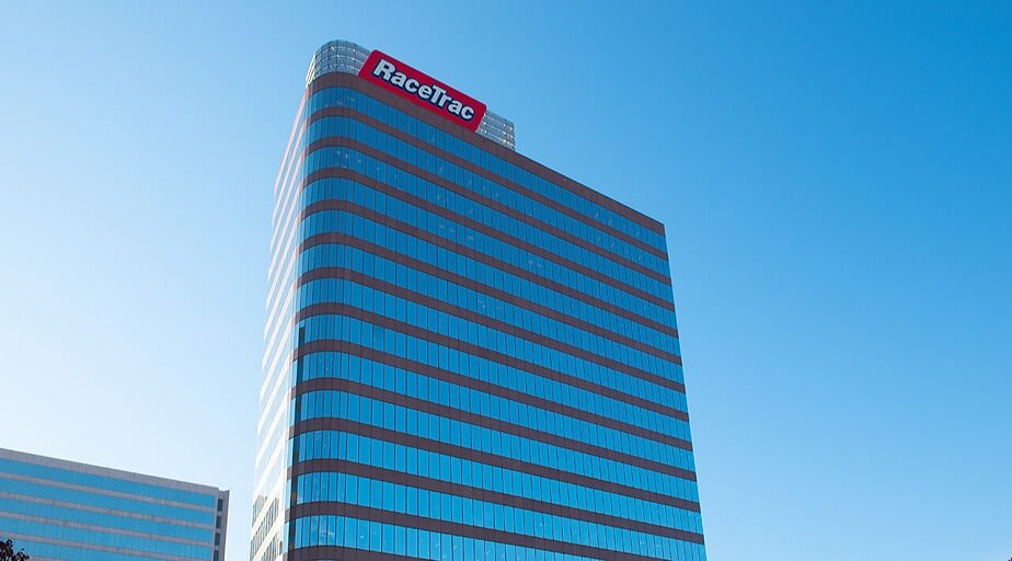 Remaining headquartered in Atlanta, Georgia, RaceTrac moves to its new Store Support Center at 200 Galleria Parkway.