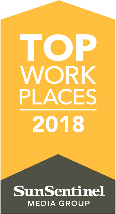 Top Work Places 2018 for Sun Sentinel Media Group