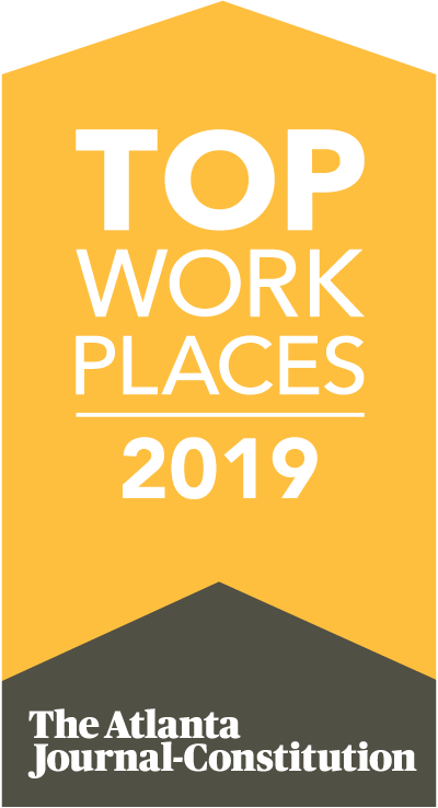 Top Work Places 2019 for the Atlanta Journal Constitution