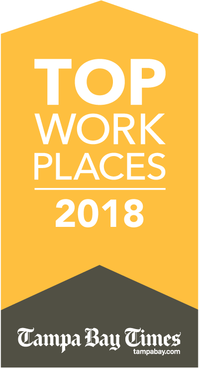 Top Work Places 2018 for Tampa Bay Times